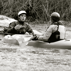 beginning kayak instruction