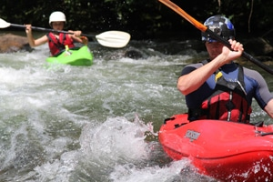 intermediate kayak coaching